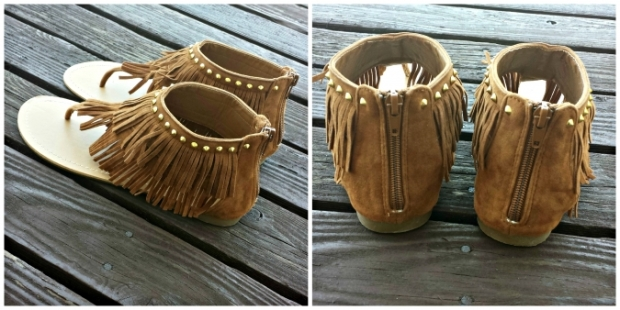"...and these ""Pocahontas Fringe Sandals"" need to be mine. Notice the 'need' not 'want' ;)"